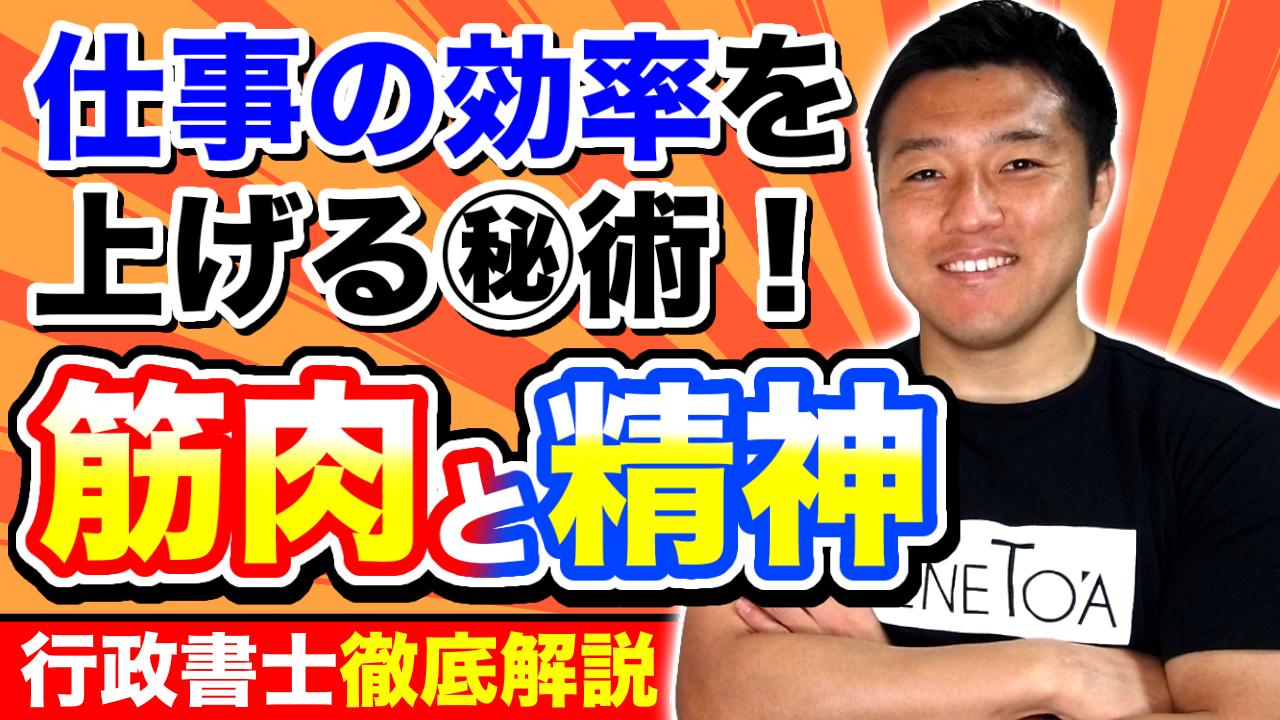 【なるほど!】筋肉の張りと仕事の生産性の関係を熊本の行政書士が徹底解剖!(仮)